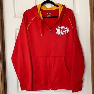 Men's NFL Full Zip Hooded Sweatshirt